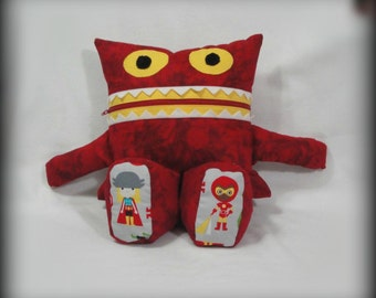 Monster Pajama Eater - Ironman/ Thor/ Avengers/ Pajama Eater/ Pillow Friend/ Pajama Keeper/ Pillow/ Pajama Bag/ Stuffed Toy/ Secret Keeper