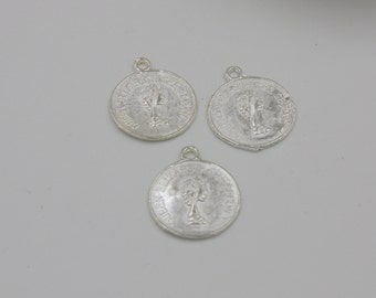 Queen Elizabeth Coin Beads