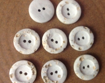 8 Buttons, 3/4 inch