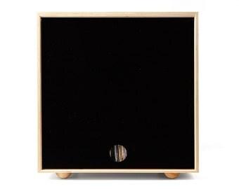 Stackable Storage Cube - Black - LP Vinyl Record Storage