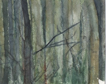 Forest, painting