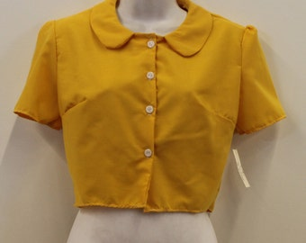 Collar Full Peter Pan Collar Shirt