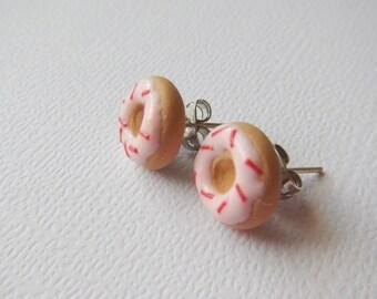 Doughnut Post Earrings