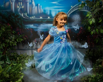Castle Garden Digital Background for Cinderella or princess sessions