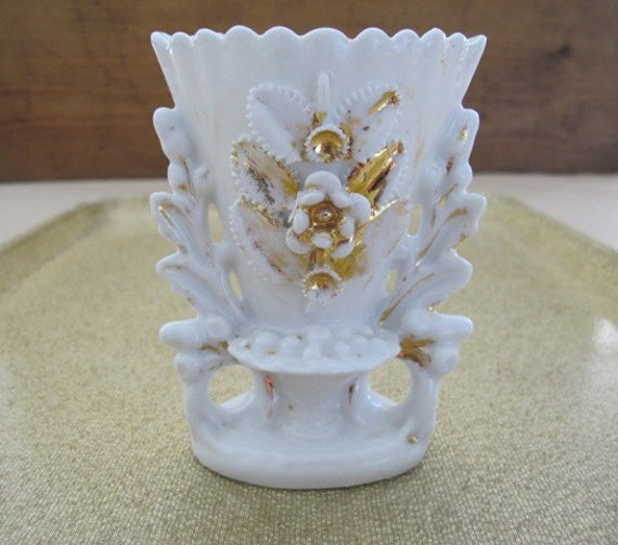 Antique Vases Old Paris Porcelain Old Paris Porcelain