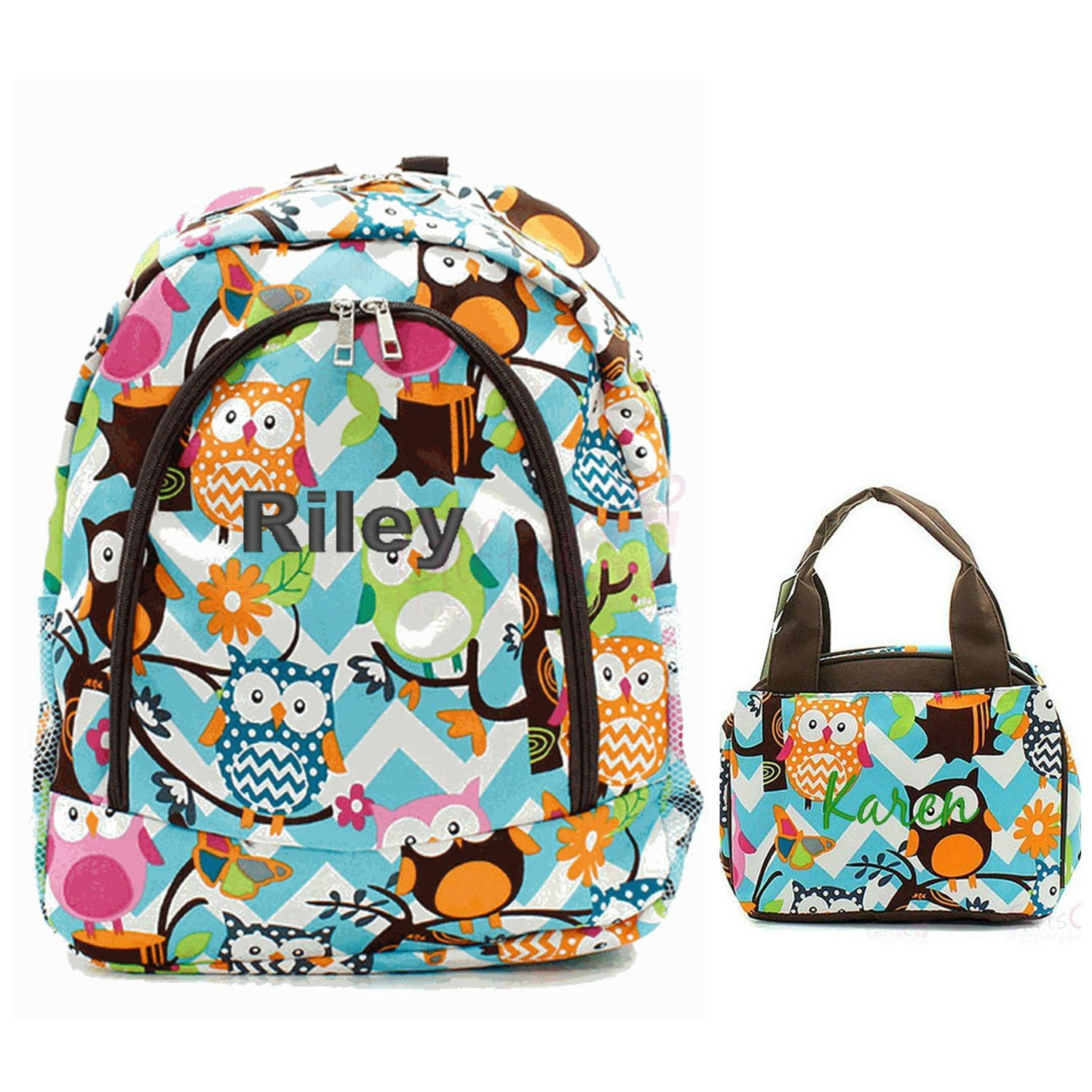 personalized kids backpacks and lunch bags