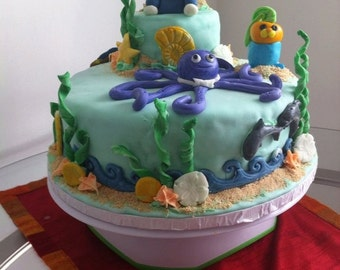 Octonauts cake topper Etsy