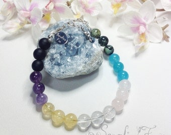 Loss of Husband Loss of Baby Loss of Parent Loss of Pet Grief Obsidian Amethyst Citrine Quartz Rose Quartz Aquamarine Turquoise Apache Tear