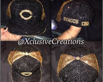 Swarovski encrusted Hat