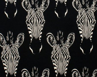 Zahara in Black by the 1/2 yard, from the Africa collection for Alexander Henry