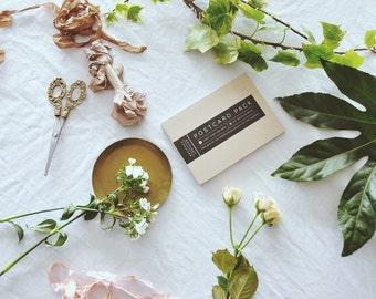Floral postcard pack