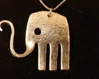 Elephant Fork Necklace