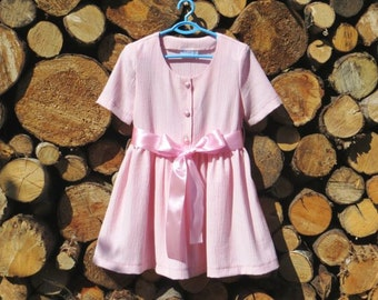Dress / Girls Dress / Pink Girls Dress / Size 3, 4, and 5 for girls approx. 3, 4, and 5 years old