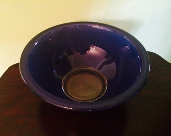 Vintage Pyrex Clear Bottom Blue #323 Mixing Bowl 1.5 L