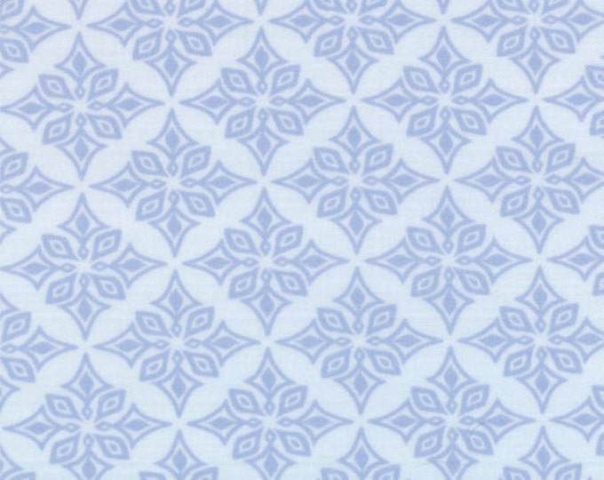 Half Yard Daydreams - Vestige in Pale Ink Blue - Cotton Quilt Fabric - designed by Kate Spain for Moda Fabrics - 27178-15 (W2776)
