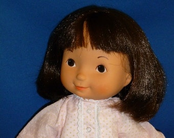 Fisher Price My Friend Jenny Doll 1980s Brown Eyes Dark Brown Hair