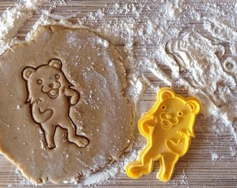 Pedobear cookie cutter, Internet meme cookie stamp