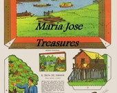 Vintage Parana Delta Scene Paper Dolls - Digital Download