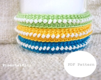 Pattern: Crochet Friendship Bracelet N.4