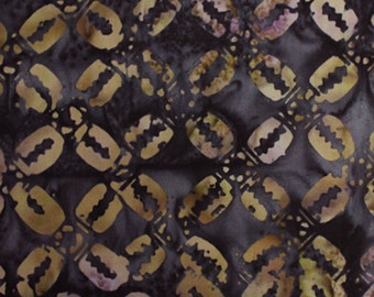 Anthology Fabrics Bali Batik 9555 Brown Geometric Yardage