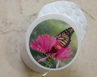 White face powder - translucent makeup - natural makeup - best natural makeup - natural makeup products - herbal talc - matte finish powder