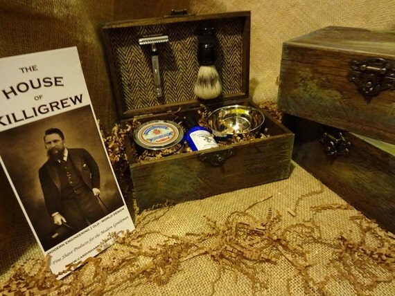 Cool Wedding Gifts For Groomsmen: Items Similar To Rustic Shave Kit Unique Men's Gift