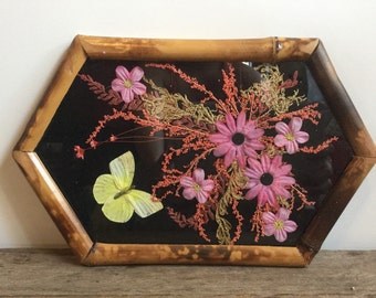 Real Butterfly Tray