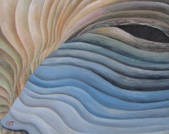 Dream Wave, original oil painting, 16x20
