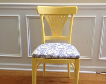 Yellow & Gray All Purpose Vintage Chair