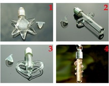 6MM Name on rice jewelry vials with silver-plated metal caps,DIY glass wishing bottle,mini glass bottles,Glass vials