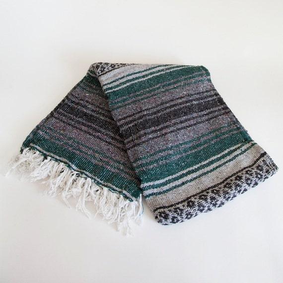 Mexican Beach Blanket: SECOYA // Mexican Falsa Blanket, Beach Blanket, Yoga