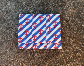 Anchor Ducttape Accordion Wallet