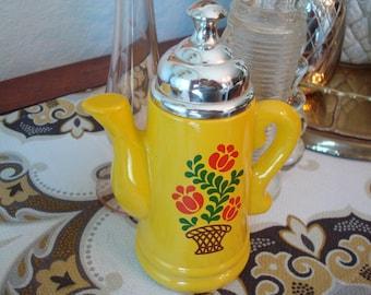 Vintage Avon Koffee Klatch Field Flowers Bottle - Pretty!!