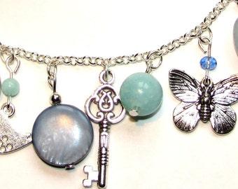 Boho Jewelry - Jewellery - Bohemian jewellery - beaded necklace - Charm necklace