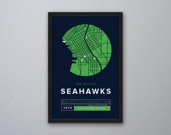 Seattle Seahawks Print