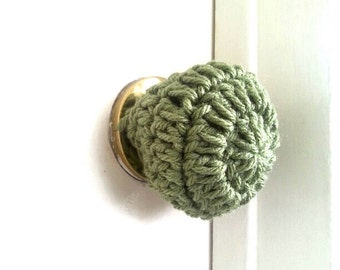 3 Crochet door knob cover, child safety cover, child proof, crochet accessories, crochet housewares, home decor, door knob, christmas gifts