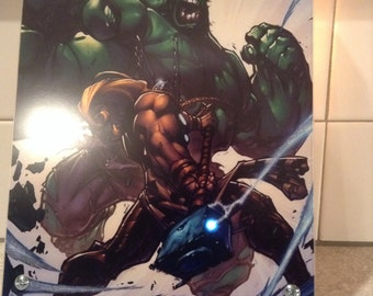 Hulk and Thor led picture