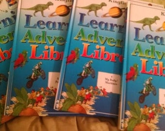 Kingfisher Learning Adventure Library four volumes kids learning