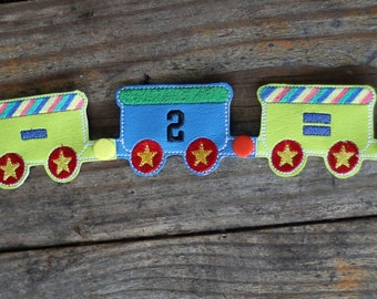 Snap Together Train ADD ON - Flashcards - Toys - In The Hoop -  - 23 Digital Embroidery Design INCLUDED
