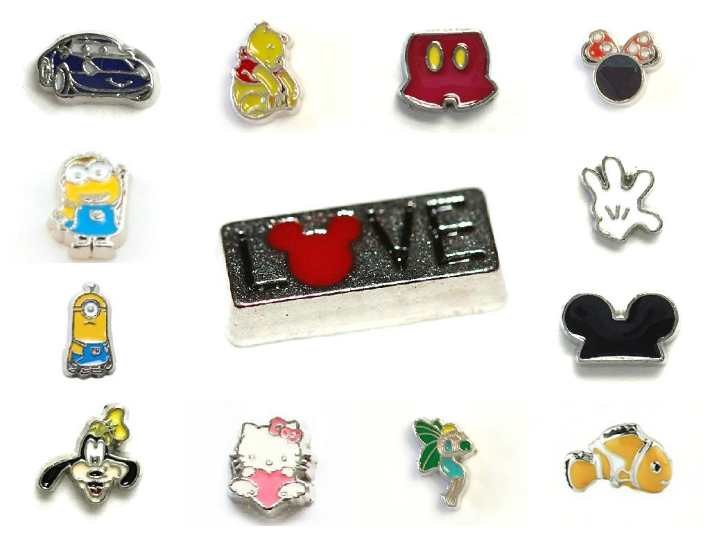 floating charms disney cartoon for floating charm memory