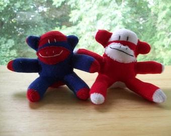 Baby Sock Monkeys