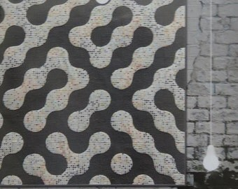 A-Maze Me Quilt Pattern - Zen Chic - Brigitte Heitland - AMQP - Modern - Intermediate - Labyrinth - Contemporary - Drunkard's Path