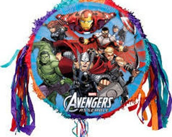 Avengers Party Pinata party supplies Avengers party supplies