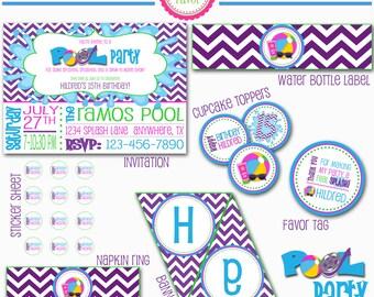 Teen Pool Party Package