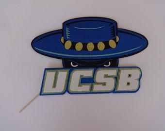 University California Santa Barbara Photo Booth Logo  Graduation Photo booth