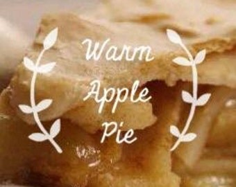 Free shipping - Warm Apple Pie Home Fragrance - single scent tart - flameless candle - scents - aromas - wax tarts - air freshener