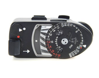 Leitz Meter AR Black -Original 1950s Meter for Leica M cameras