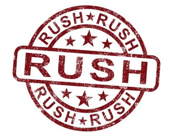 Rush order/ 2 day shipping