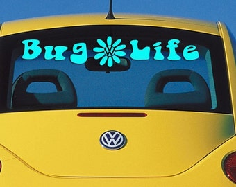 Bug Life Windshield / Window Decal - VW Beatle
