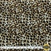 """Leopard with White Background Print Spandex Fabric SALE 4 Way Stretch Lycra Knit By The Yard 58""""-60"""" Wide"""